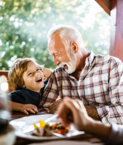 Tell me a secret granddad!